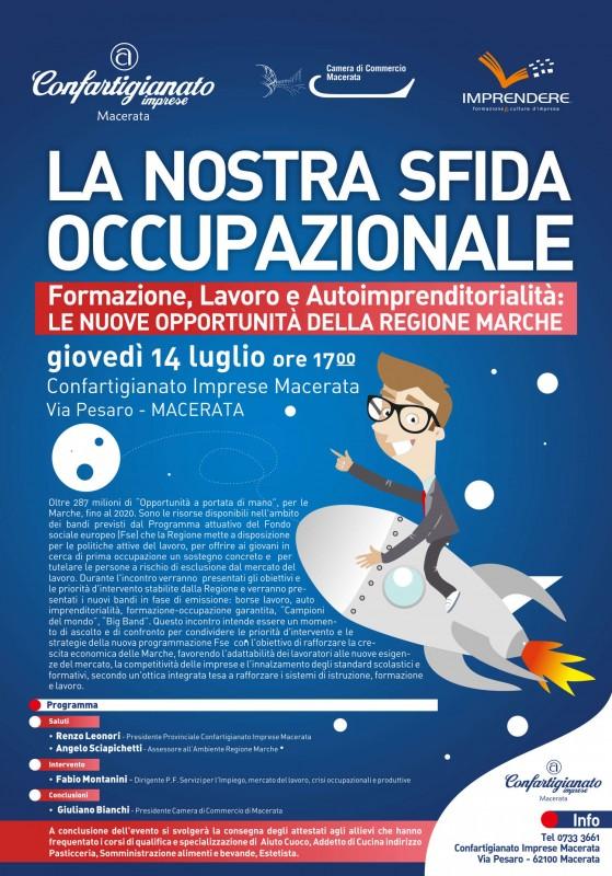 Sfida Occupazionale 2016