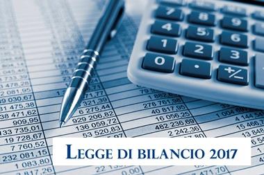 legge bilancio 2017