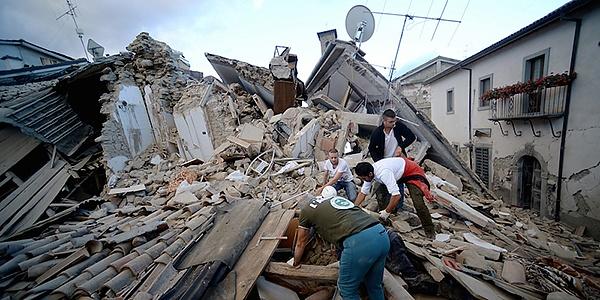 servizio rilevazione danni sisma e prima necessita