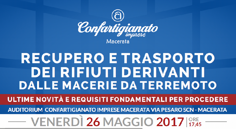 gestione macerie