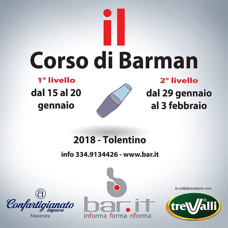 corsi barman bar.it