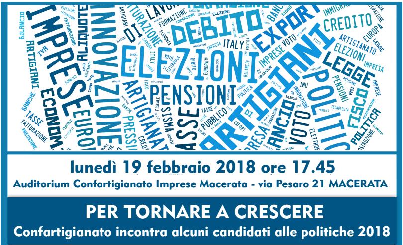 elezioni politiche 2018 incontro pubblico