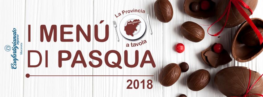menu di pasqua 2018