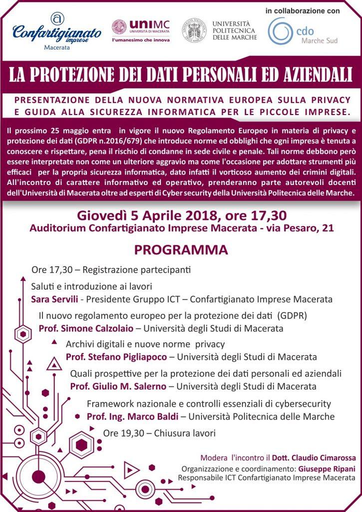 workshop sicurezza informatica 5aprile2018