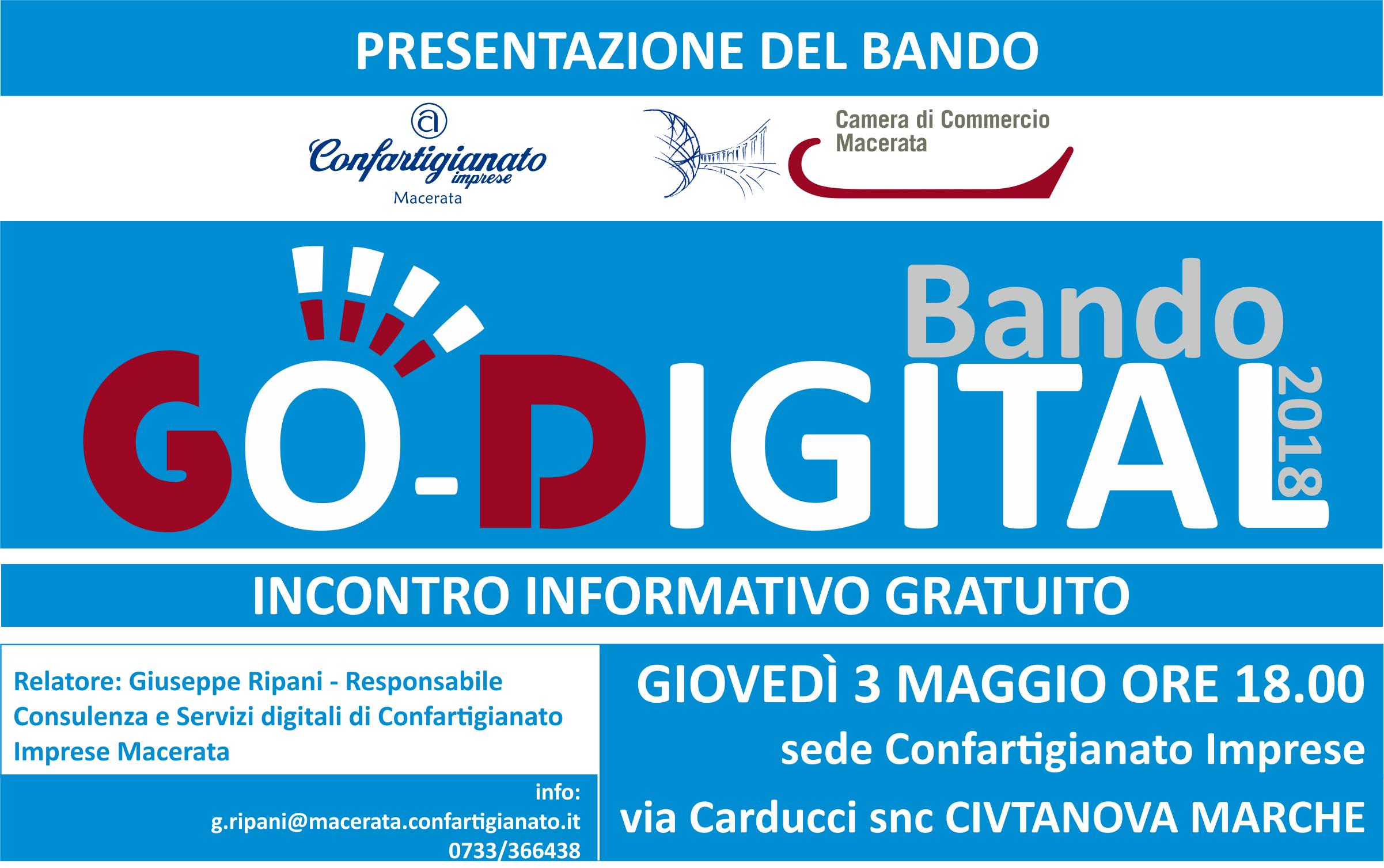 Bando Go Digital 3maggio2018
