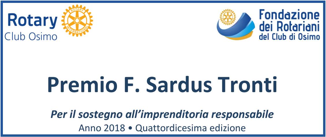 Premio F Sardus Tronti