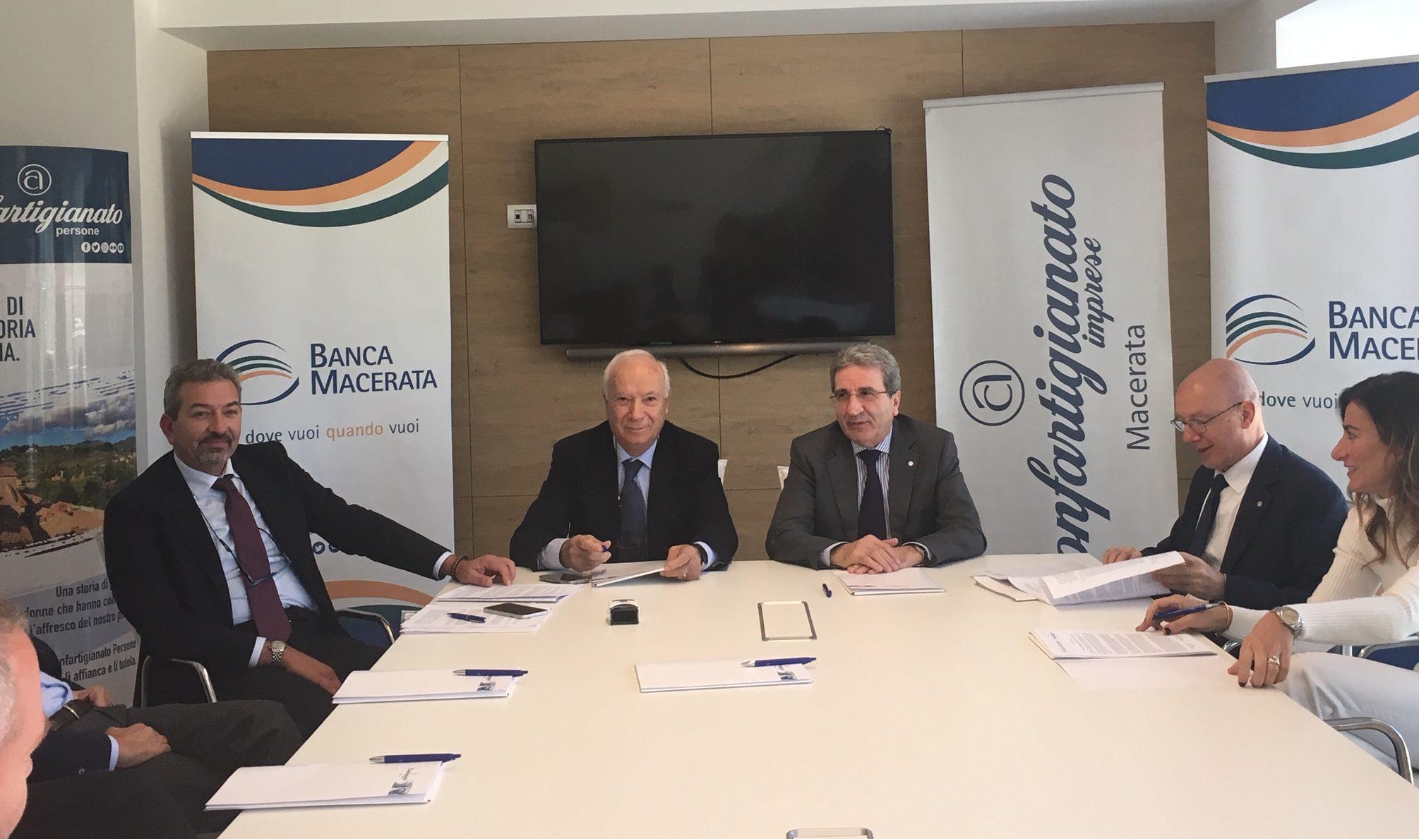 convenzione Confartigianato-Banca Macerata