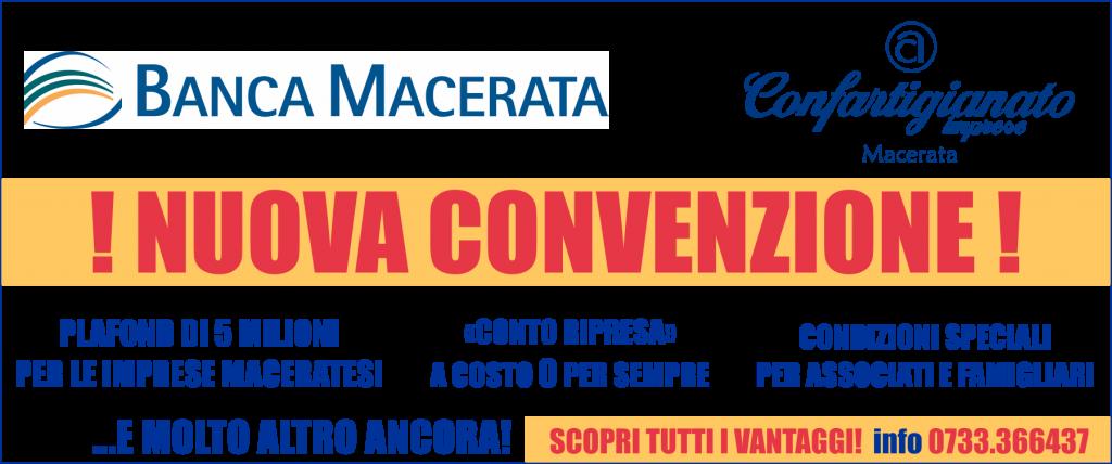 convenzione banca macerata