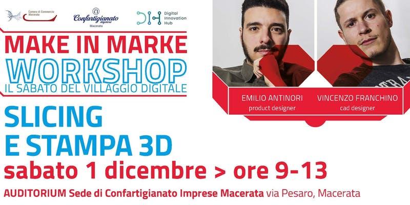 stampa 3D e slicing