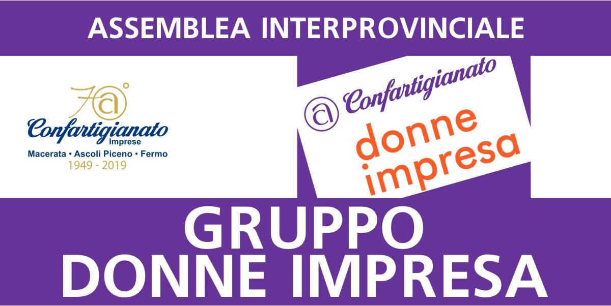 Assemblea interprovinciale Gruppo Donne Impresa