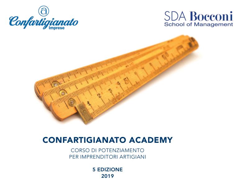 confartigianato academy 2019