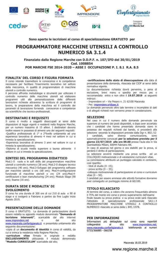 CNC Fabriano