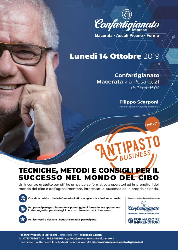 Antipasto Business 2019 locandina