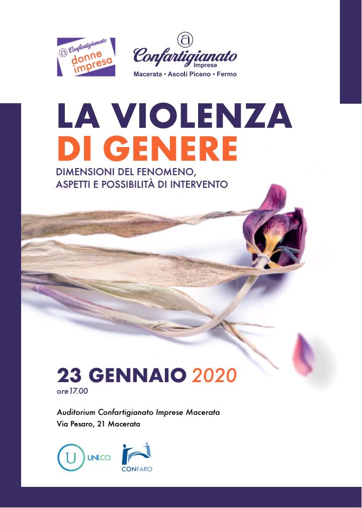 locandina violenza di genere